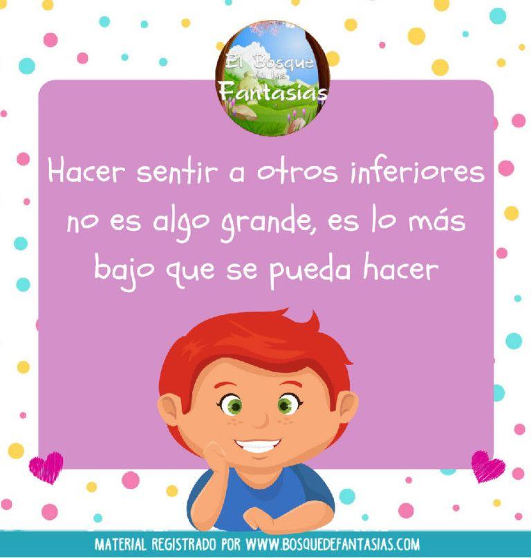 Frases Contra El Bullying Ficha 3 Contra El Bullying