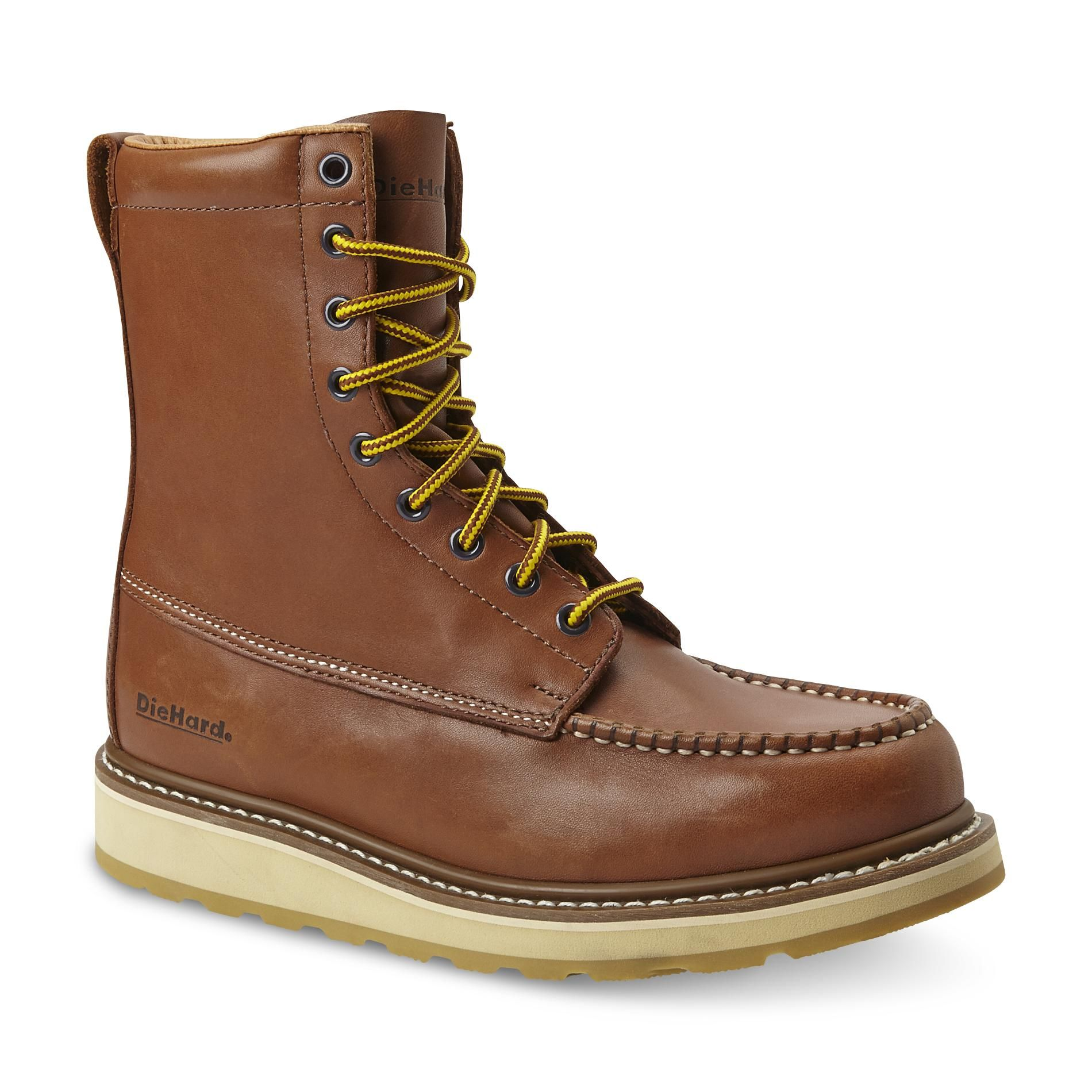 Brown Soft Toe Work Boot