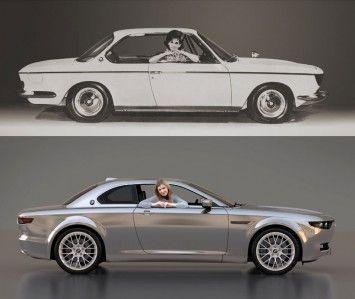 1965 BMW 2000 CS and BMW CS Vintage Concept | Car design | Pinterest ...
