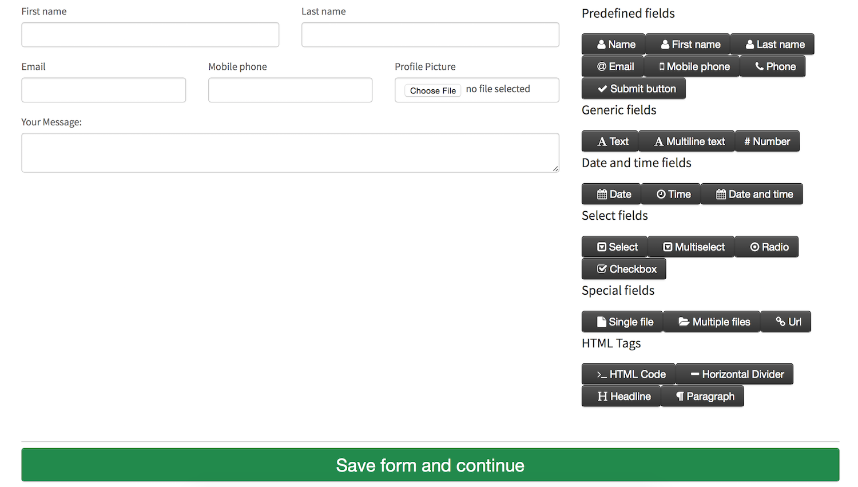 Top  Online Form Builder Apps For Your Website  Apps