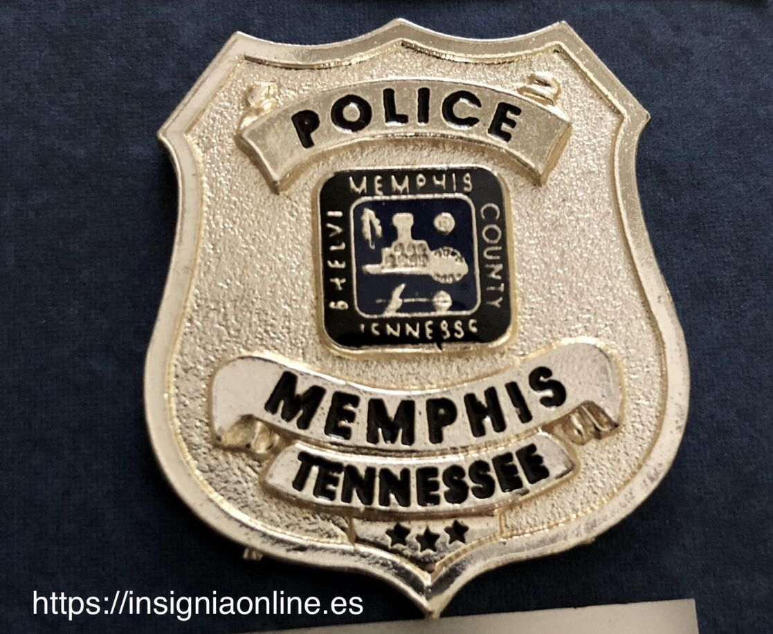 Memphis Tennessee Police Badge Https Insigniaonline Es Police Badge Police Memphis Police