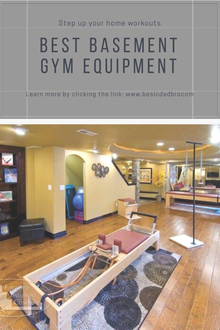 Build a Home Pilates Studio Basement gym, Workout space