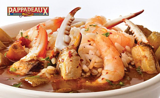 Pappadeaux Seafood Kitchen - Menu | Pappadeaux | Pinterest ...