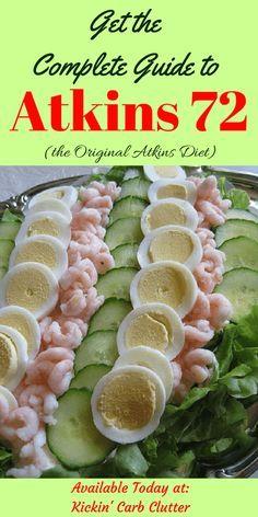 La guida completa all'induzione Atkins 72, la dieta originale Atkins