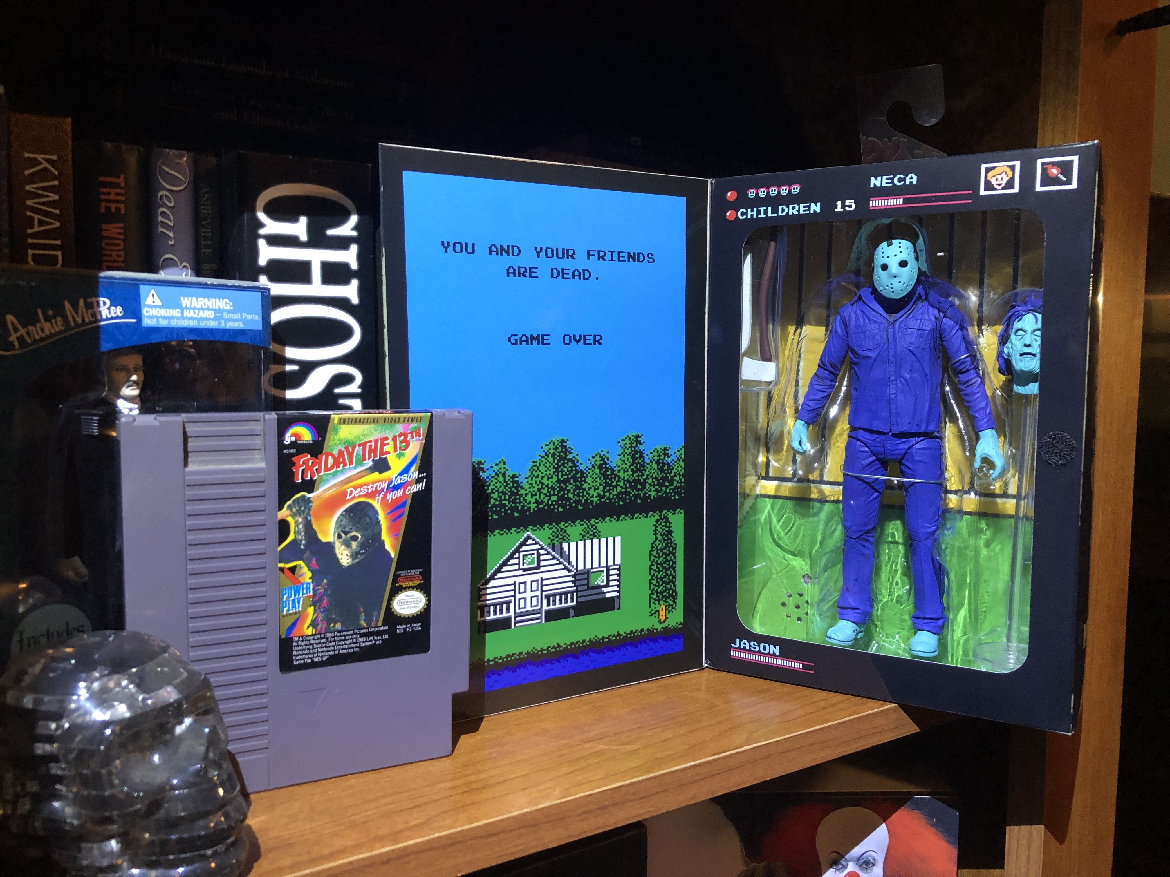 Friday The 13th 1989 Jason Action Figure Only Jason Action Figure Classic Video Games Friday The 13th
