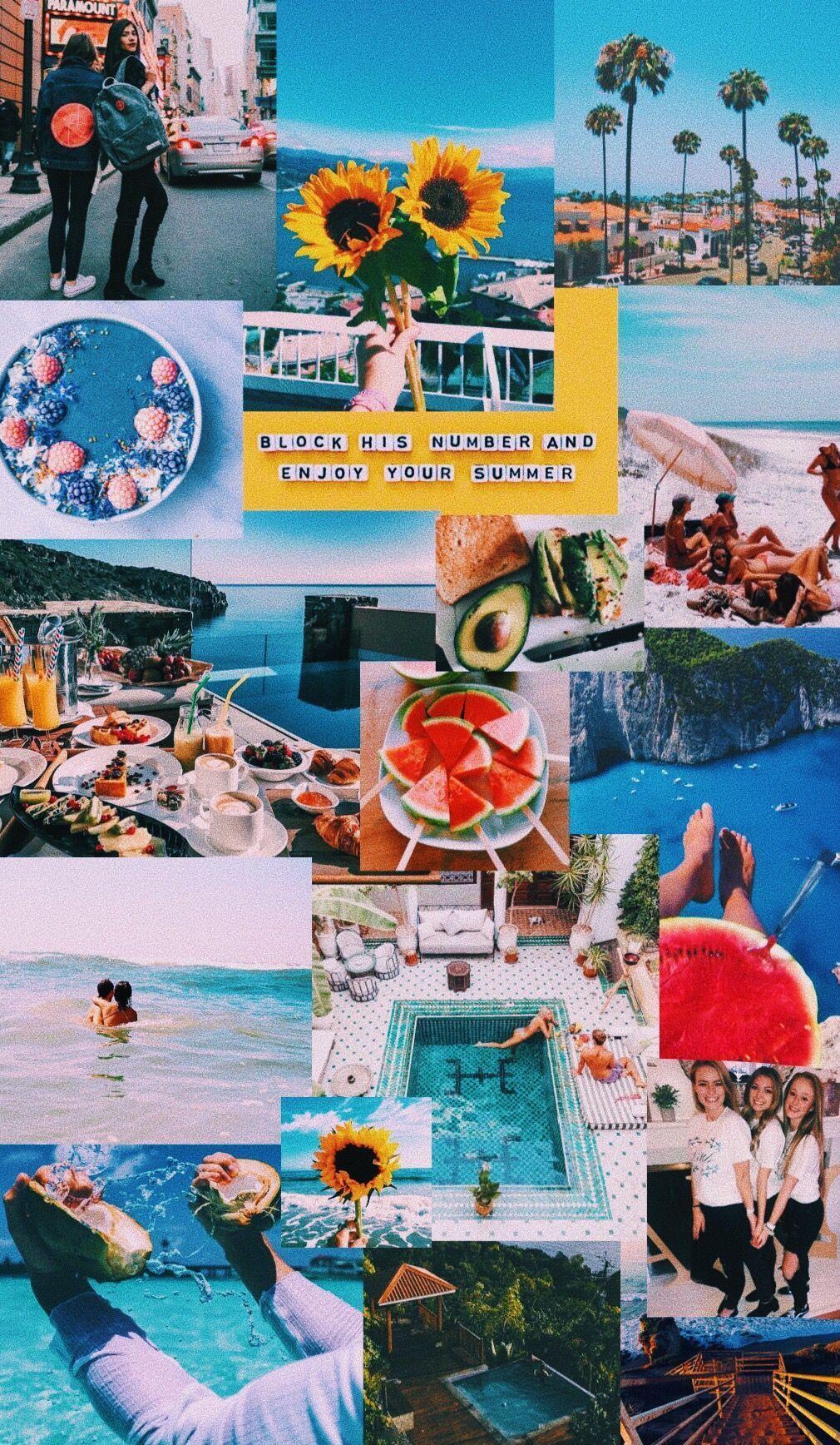 summer collage lockscreeniphone 641411171914135587