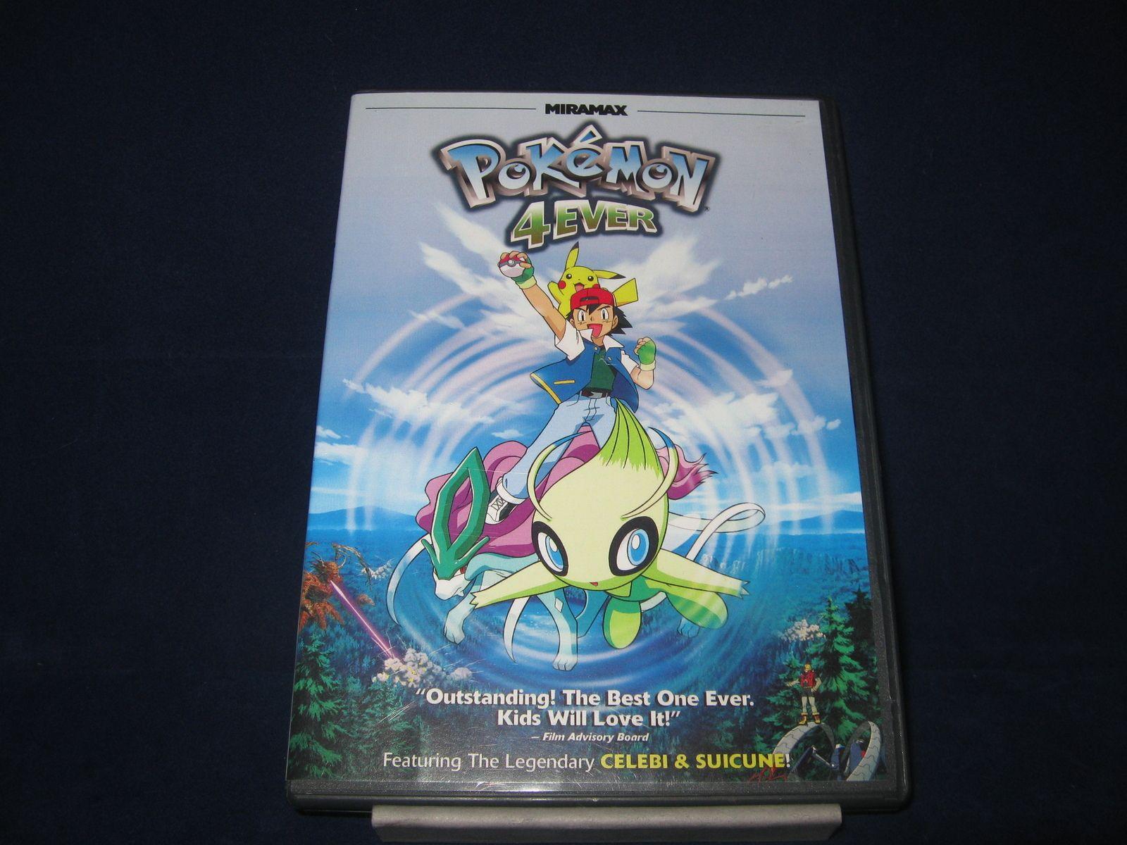 Pokemon 4ever Dvd Movie Video Anime Animation Celebi