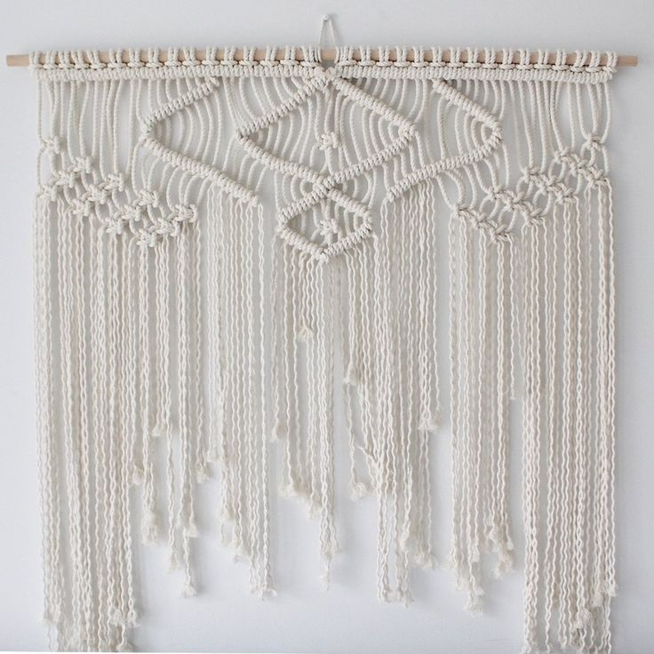 Yarn Tapestry Above Bed