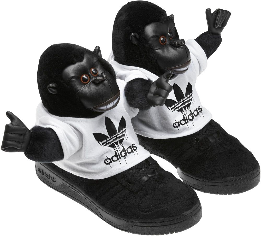 new product 785bf 50608 Peluches et pop culture pour la nouvelle collection Jeremy Scott pour Adidas