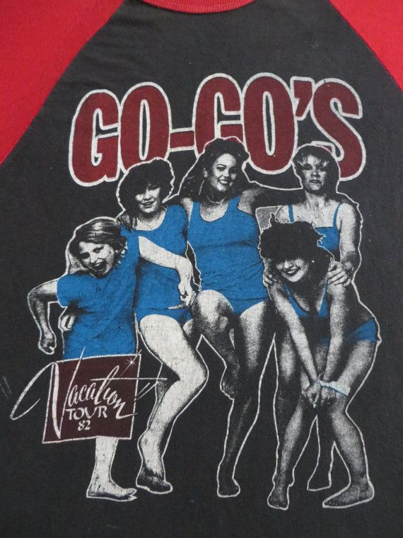 d0782d651 GO GO's vintage 1982 tour T SHIRT. Find this Pin and more on Punk ...
