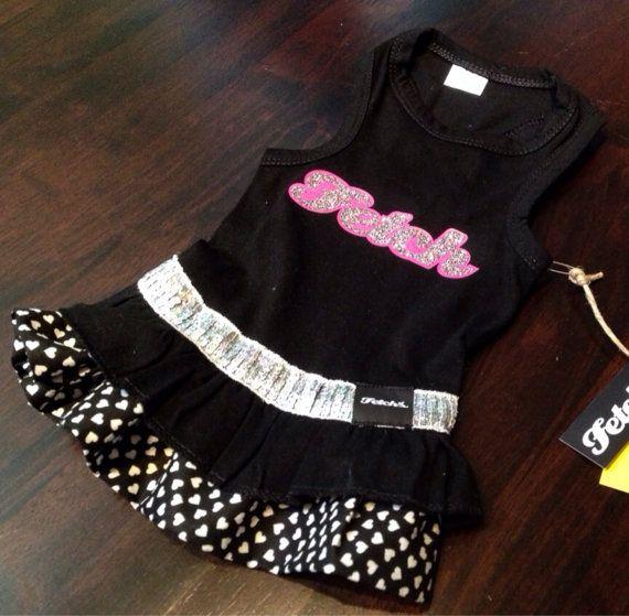 Fetch Glitter Dog Dress on Etsy, $49.99