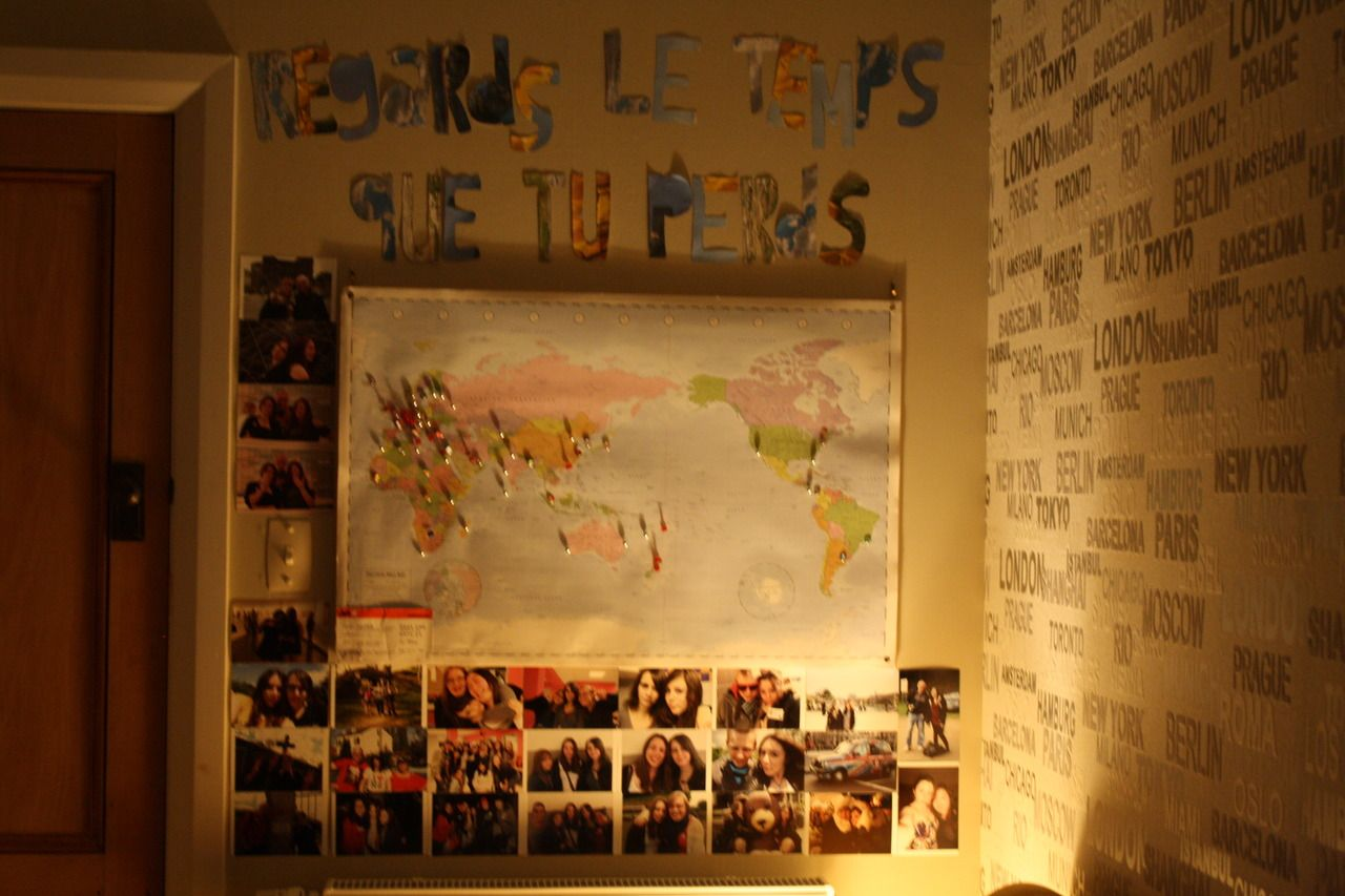 Tumblr room wall quotes - This Is My Current Room Teenage Bedroom The I M And I Live In Wellington Nz At The Moment I M Really Into Travelling And I Just Came Back From An