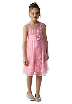 121ba91d2 Amy Byer Emma Sequin Ruffle Dress Girls 7-16 Belk | Girls dresses ...