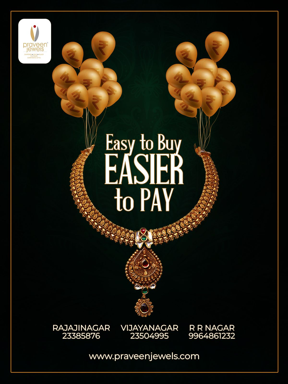 Celebrate Every Moment That Comes Your Way With Praveen Jewelers Buy Now Pay Later Emi Option On Gold Jeweller Buy Gold Jewelry Silver Jewelry Gifts Jewelry