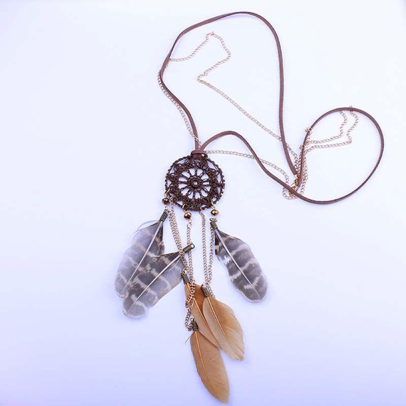 Fashion Vintage Enchanted Forest Mini Dreamcatcher Handmade Dream Catcher