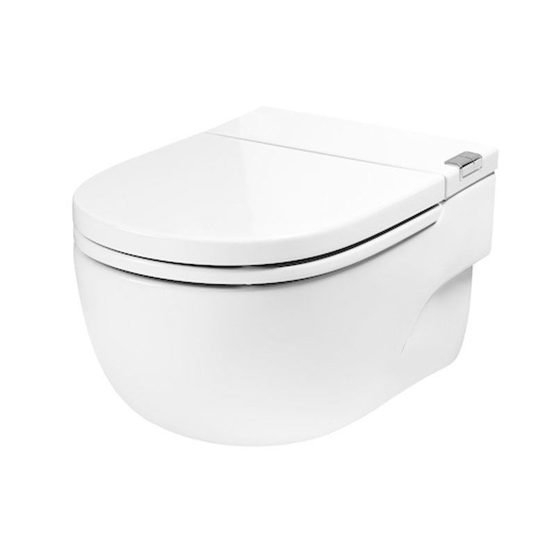 Roca Meridian N Toilet 893302000 Wall Hung White Wall Hung Toilet Heating And Plumbing Toilet