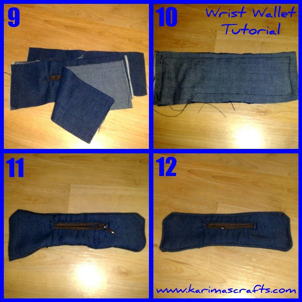 Wrist wallet tutorial sewing crochet pinterest wallet wrist wallet tutorial jeuxipadfo Image collections