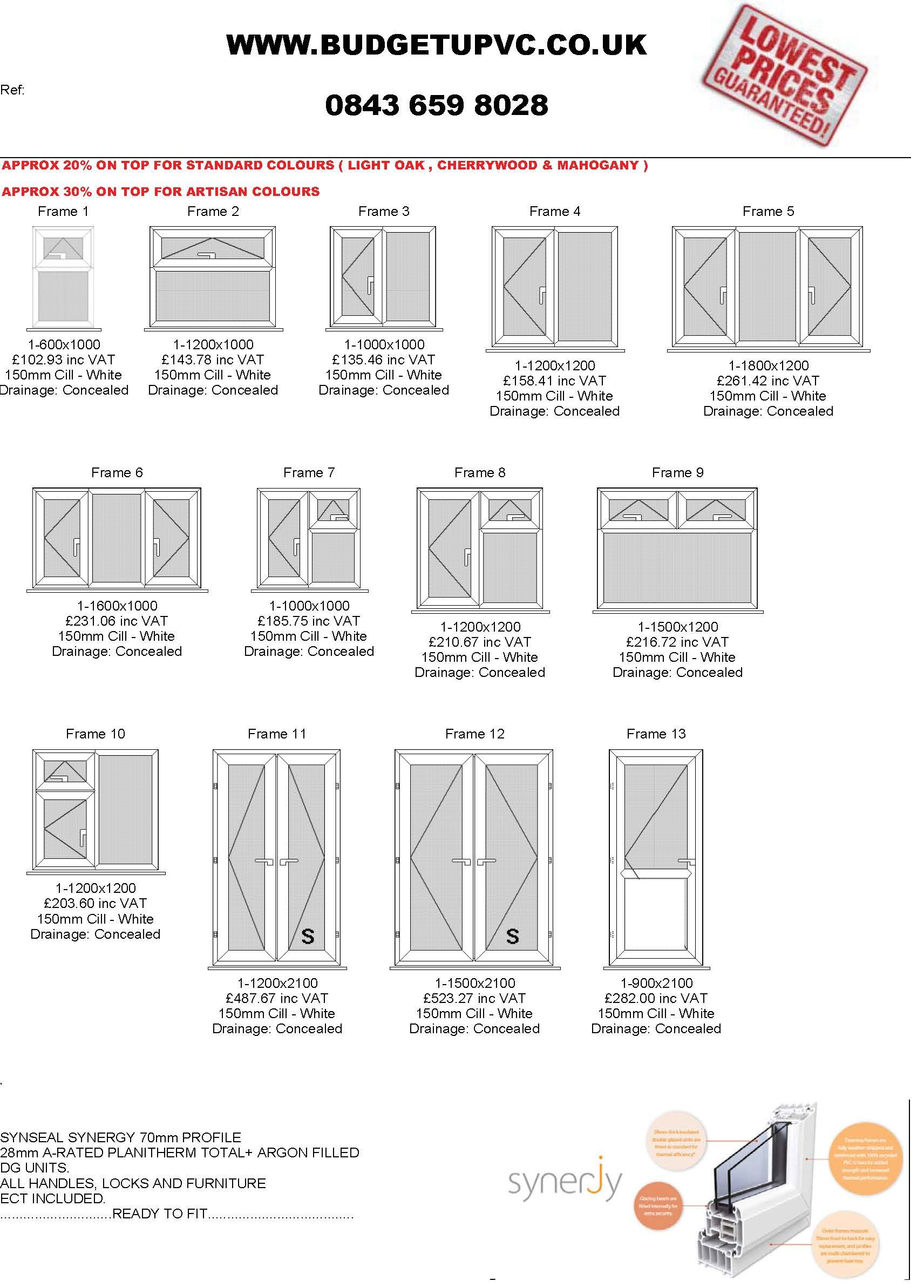 Fantastic Discounts On Trade Upvc Windows And Supply Only Windows Windows And Doors Upvc Window Grill Design Modern