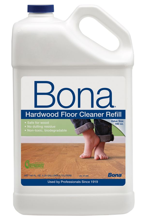 Bona Hardwood Floor Cleaner Refill, 128 Oz, Clear: Bonau0027s Hardwood Floor  Cleaner Is The Choice Of Professionals. The No Residue Formula Has Been  Specially ...