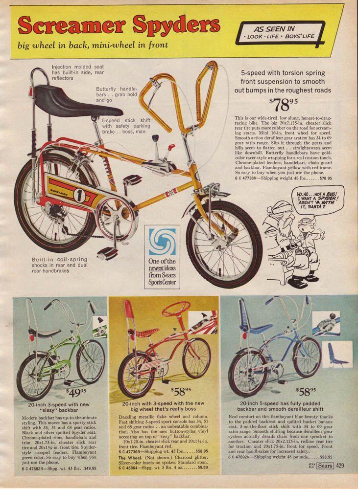 Christmascatalogbikes Vintage Bicycles Bicycle Vintage Bikes