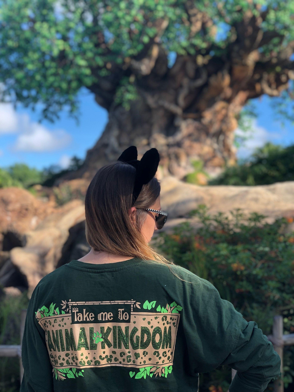 Disney Animal Kingdom inspired game day jersey Take me