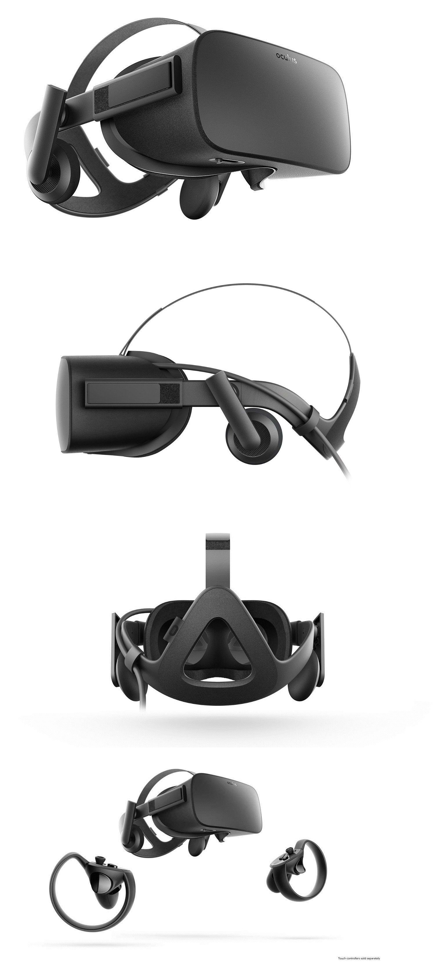 06449af9a8cb PC and Console VR Headsets  New! Oculus Rift Virtual Reality Vr Headset For  Windows Gaming Pc BUY IT NOW ONLY   635.98
