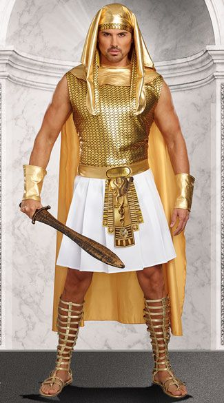 Egyptian Warrior Pharaoh Ramses Adult Costume