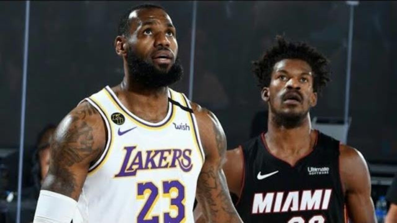 Los Angeles Lakers Vs Miami Heat Full Game 3 Highlights October 4 2020 In 2020 Miami Heat Lakers Vs Los Angeles Lakers