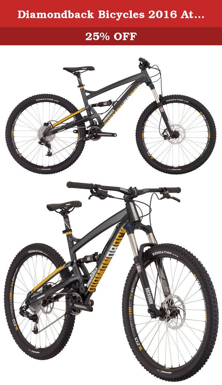 270bf75733c Diamondback Bicycles 2016 Atroz Comp Complete READY RIDE Full Suspension Mountain  Bike, Dark Silver,