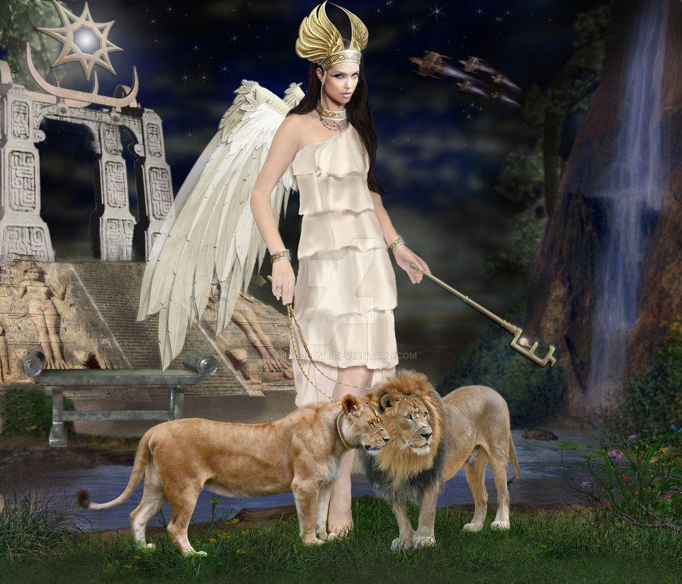 Inanna deusa - mitologia mesopotâmica