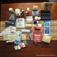 How to Create an Emergency Ammo Can First Aid Kit