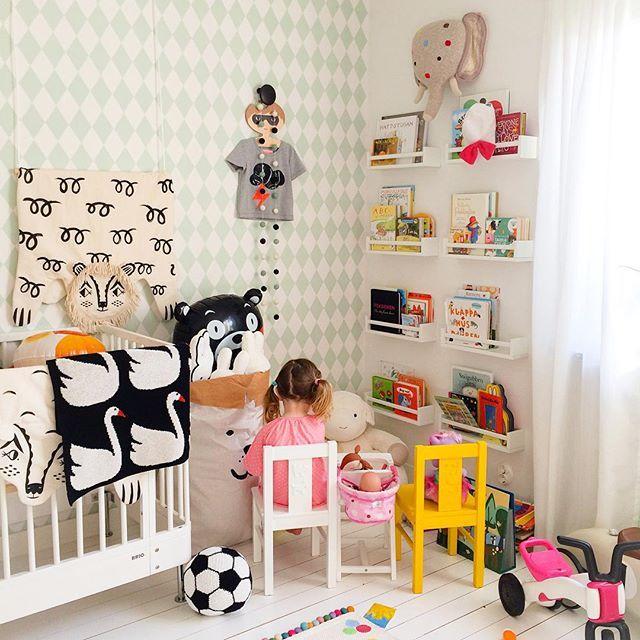 kids room decor LAS REPISAS PARA LIBROS!! Dormitorios