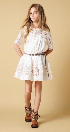 Vestidos para ninas moda europea