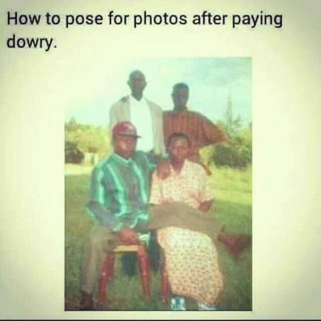 After Paying Dowry A Man Has The Right To Pose For A Photo