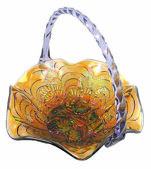 Carnival Glass Basket Jadite Amp Milk Glass Amp Slag Glass Glass Antique Glass Glass Art