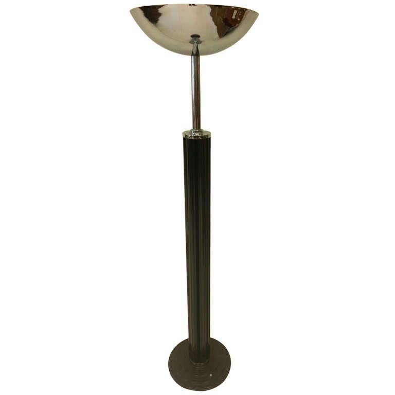 Art Deco Bakelite Floor Lamp Art Deco Floor Lamp Floor Lamp Art Deco Lighting