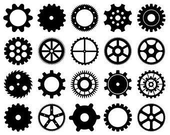 Cog Etsy Sleeve Ideas Clock