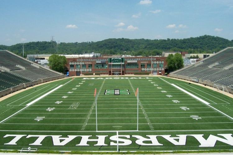 The Old Marshall Football Stadium Huntington W V College