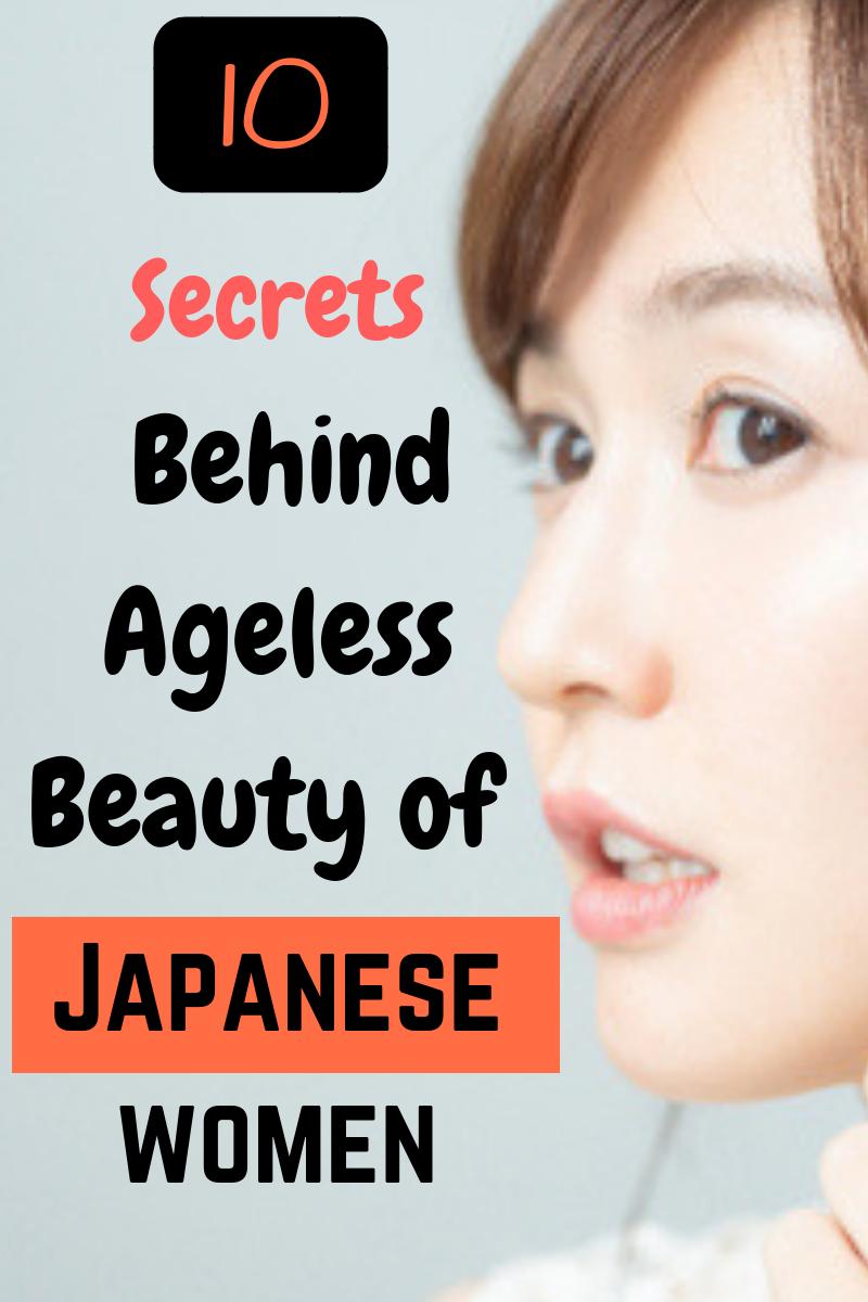 Top 12 secrets behind ageless beauty of japanese women When it