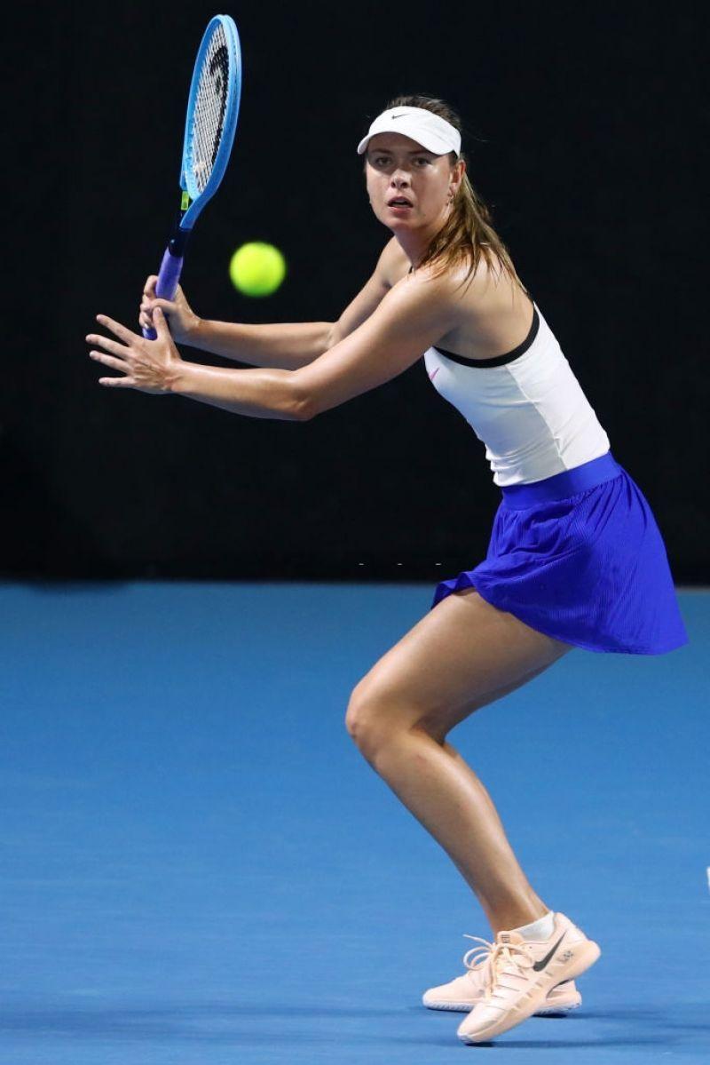 Celebmove Maria Sharapova 2020 Women S Asb Classic Day 2 I En 2020 Bolsos Wuayu Deportes Maria Sharapova