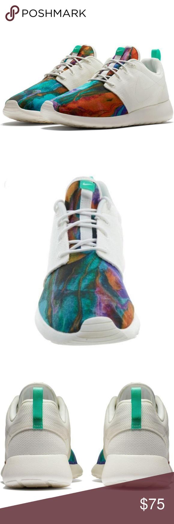 buy online f0475 0061e Nike Roshe One Print Mens Shoes Tye Dye Sail Ment New in Box Nike Roshe  One Print Mens Shoes Tye Dye Sail Menta Running Size 8.5 Nike Shoes  Athletic Shoes