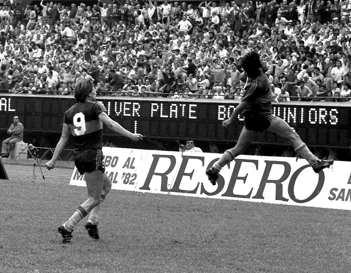 1 de Noviembre de 1981, estadio Monumental (River Plate
