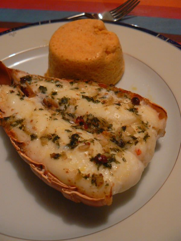 Queues de langoustes grill es recettes pinterest langouste grill e langouste et poisson - Recettes de langoustes grillees ...