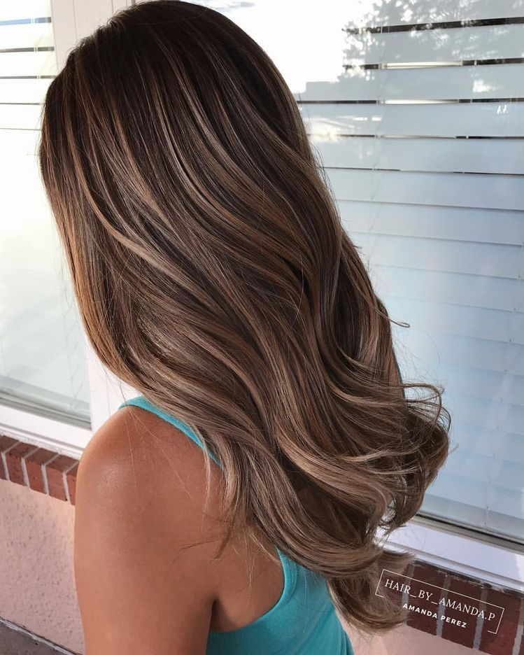 Klebeband in Balayage Brown Highlighted Caramel Blonde Echthaarverlängerungen # 4/27/4 - #Balayage #blonde #Brown #caramel #Echthaarverlängerungen #Highlighted #Klebeband #humanhairextensions