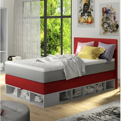 Zoomie Kids Extra Long Twin Platform Bed With Mattress Twin