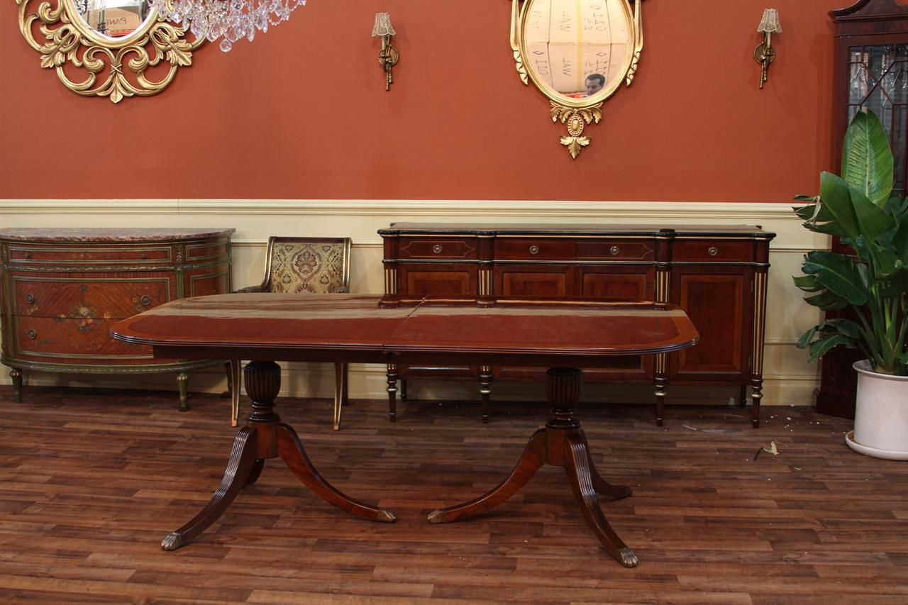 Large Of Duncan Phyfe Dining Table