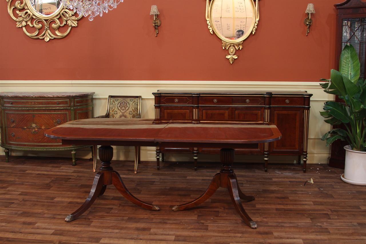 Medium Of Duncan Phyfe Dining Table