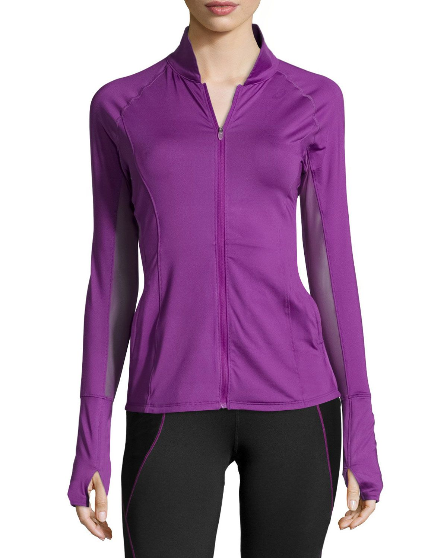 13191ce925a88 Asics Fit-Sana™ Zip-Front Sport Jacket