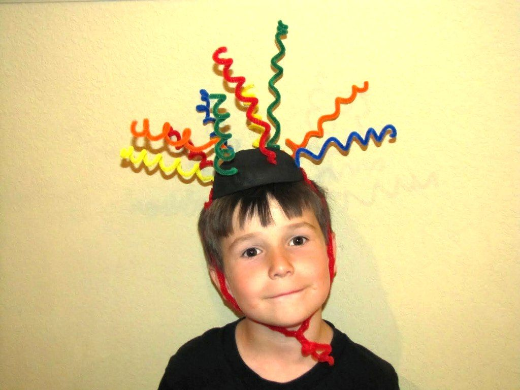 Easy Wacky Hair Day Ideas For Boys With Short Hair Crazy Hair Day