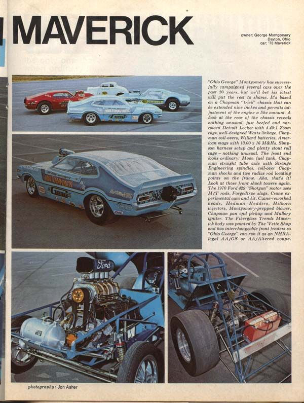 The Ford Maverick Page Year To Year Changes Ford Racing Drag Racing Cars Ford Classic Cars